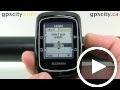 garmin edge 200: alert settings