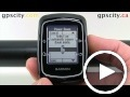 garmin edge 200: display settings