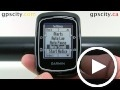 garmin edge 200: time settings