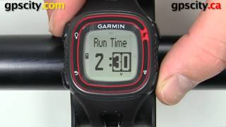 garmin forerunner 10: run+walk mode