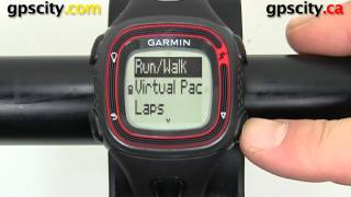 garmin forerunner 10: overview