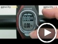 garmin forerunner 60: sport training pages