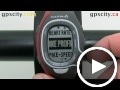garmin forerunner 60: bike profile