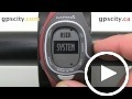 garmin forerunner 60: tone settings