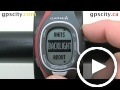garmin forerunner 60: backlight