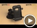 ram x-grip cradle: apple iphone 4 4s otterbox defender (ram-hol-un7bu)