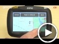garmin zumo 350lm: map & vehicle page