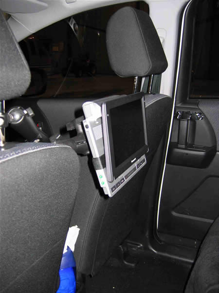Ram Headrest Mount For Dvd Player Gallery Article