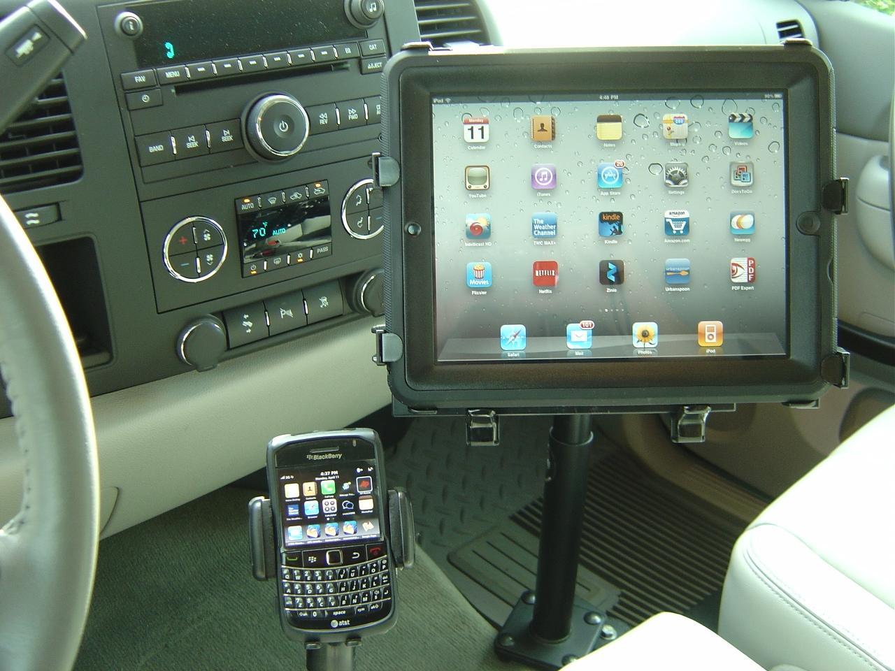 Ipad Mount In 2011 Gmc Sierra Gallery Article