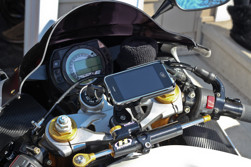 New Blog 1 Motorcycle Phone Mount
