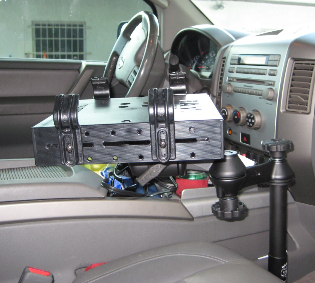 Ram Laptop Mount For Nissan Titan Gallery Article