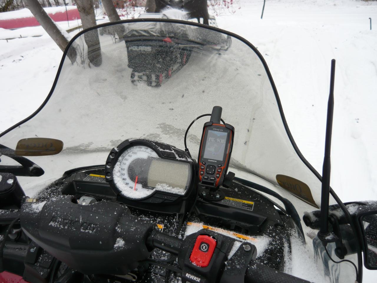 Arctic Cat Snowmobile Gps Mount