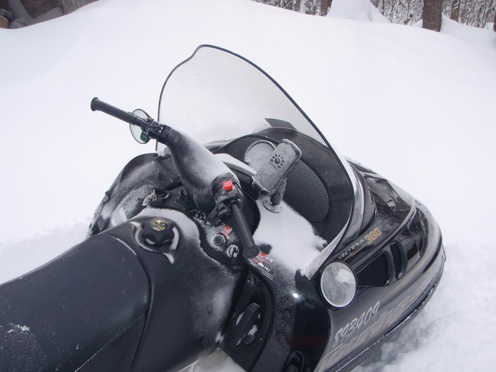 "Mounted the new Garmin Map 76csx on the sled using the RAM mount with the  1"" plate base. No joke, it took less than 1/2 an hour to mount it and that  ..."