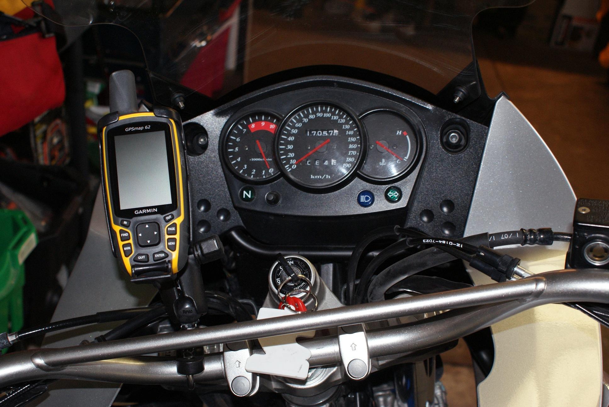 Kawasaki Klr Dashboard