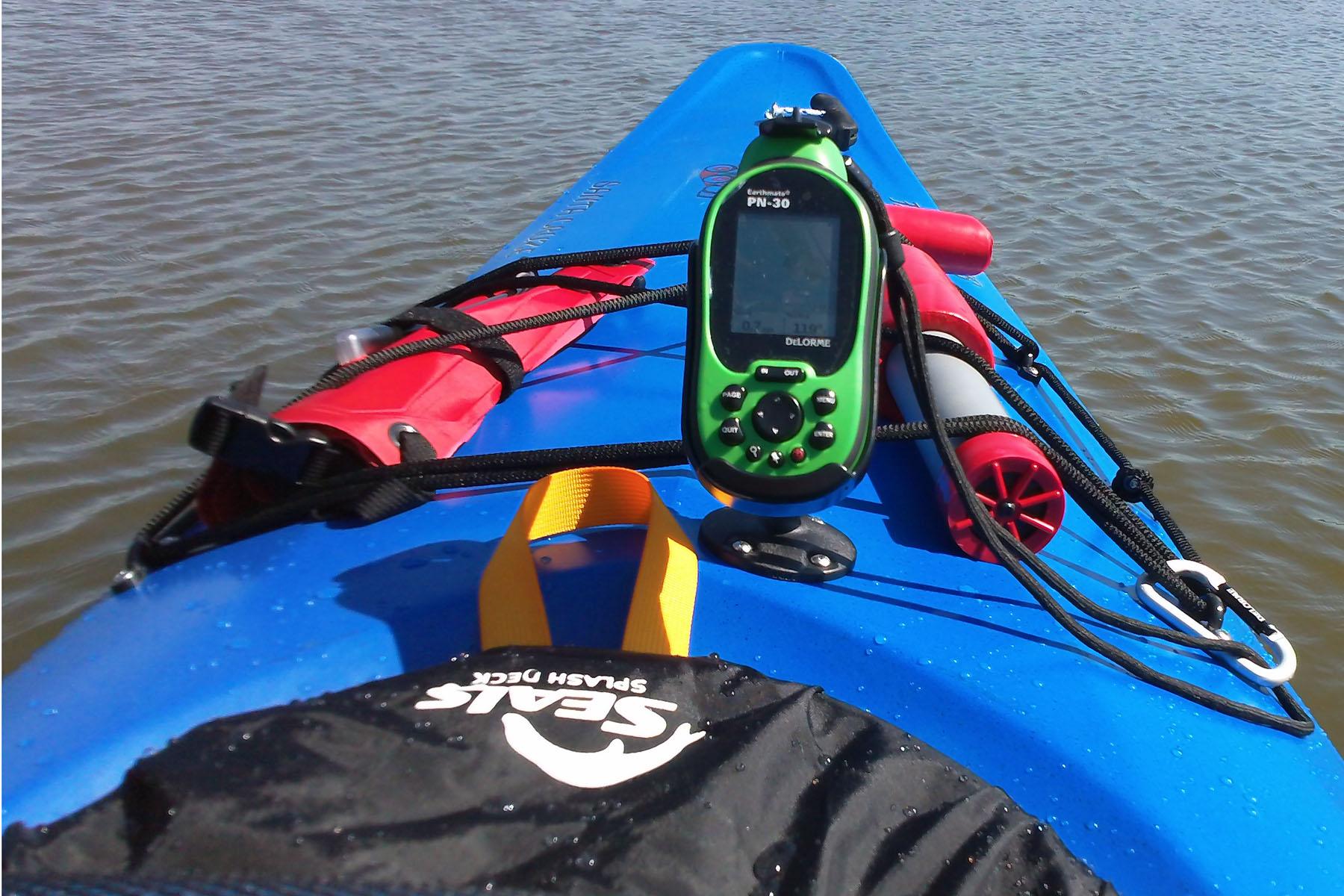 Kayak Gps And Mount Photos And Articles