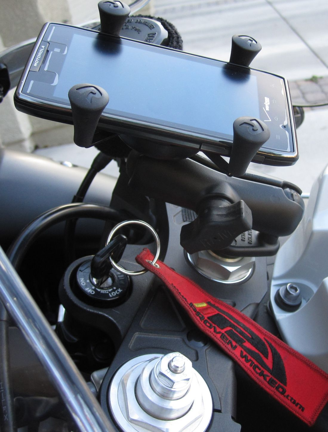 Can Am Spyder Iphone Mount