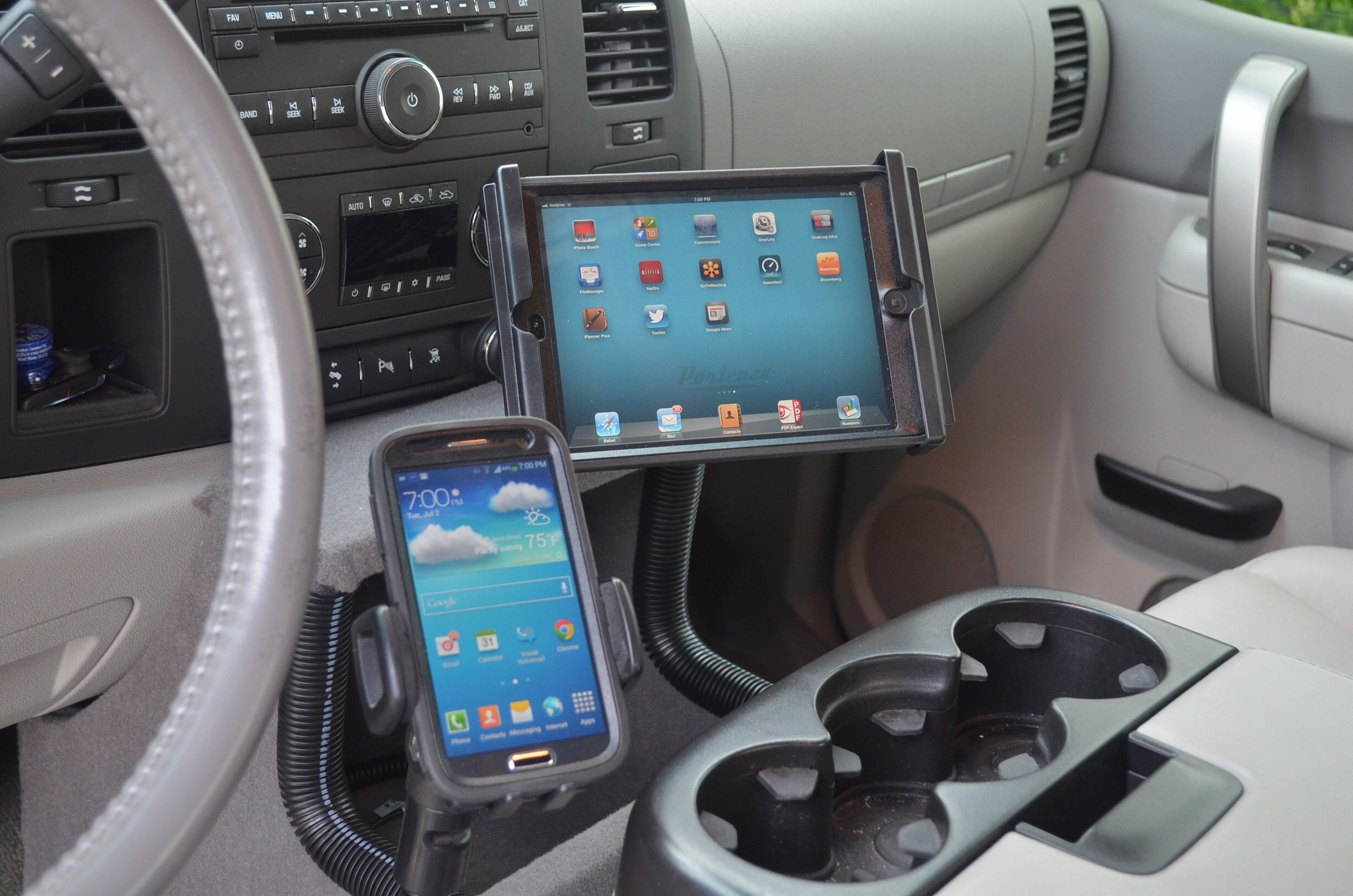 Truck Gps And Mount Photos And Articles