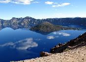 (Wizard Island) Crater Lake