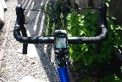 Stevens Bike with Garmin Edge 705