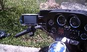 RAM 309 with GPS mount