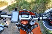 New Oregon 450 on my KTM 450. Good match.