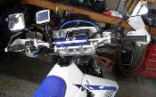 RAM GPS Mount for DRZ400S